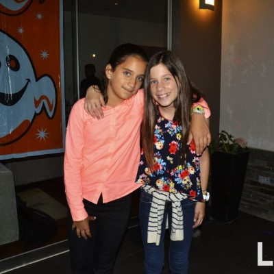 Alessandra Cantuarias y Sofia Romero.