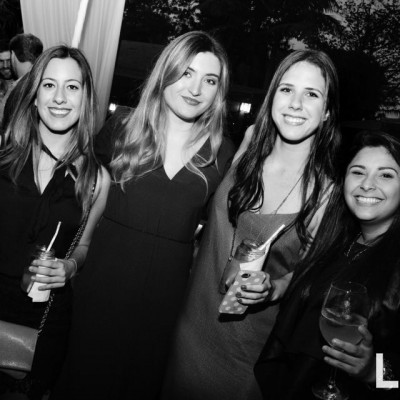 Alexandra Caritg, Stephie Brack, Isabella Lulli y Larisse Parra.