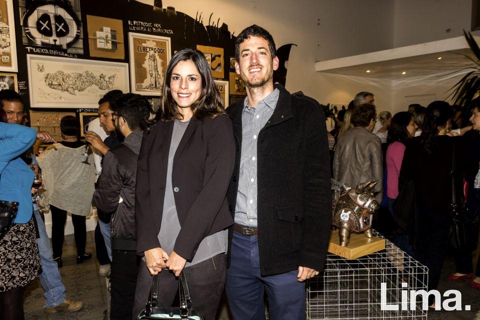Annia Vargas y Jose Daniel Ibarra.