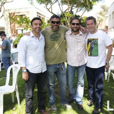 Brian Shannon, Giancarlo Delucchi, Jorge Corrochano, Elio Tubino.