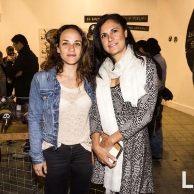 Carolina San Roman y Carmen Obregon.
