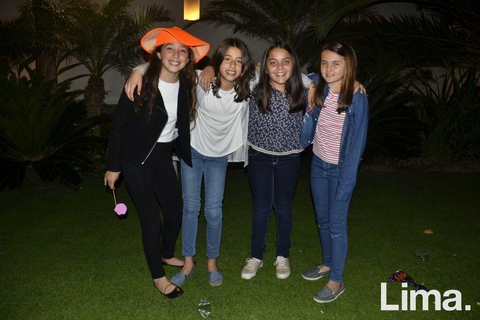 Emilia Martinez , Fernanda Carrillo , Miranda Brownrigg y Lucienne Balarin.