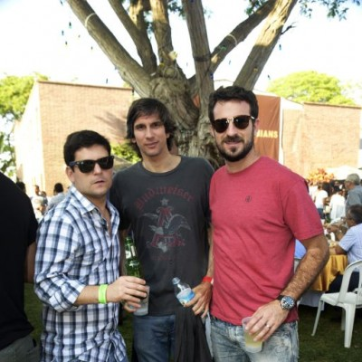 Fernando Rodriguez Larrain, Clifford Day, Jorge Corpancho.