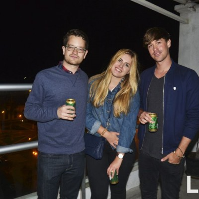 Florian Elger , Samira Morphi y Philipp Peter.