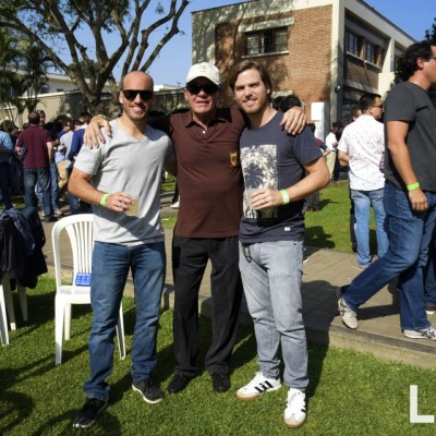 Giancarlo Rubini, Ricky Cilloniz, Gabriel Reusche.