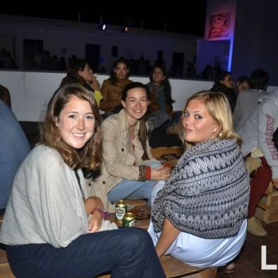 Hannah Sharpe , Samantha Kemp y Sophie Wlilliamson.