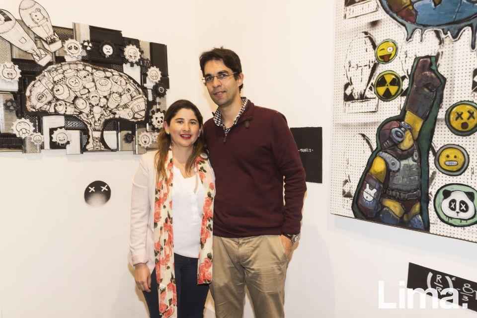 Juliana Quintero de Freire y Daniel Freire.