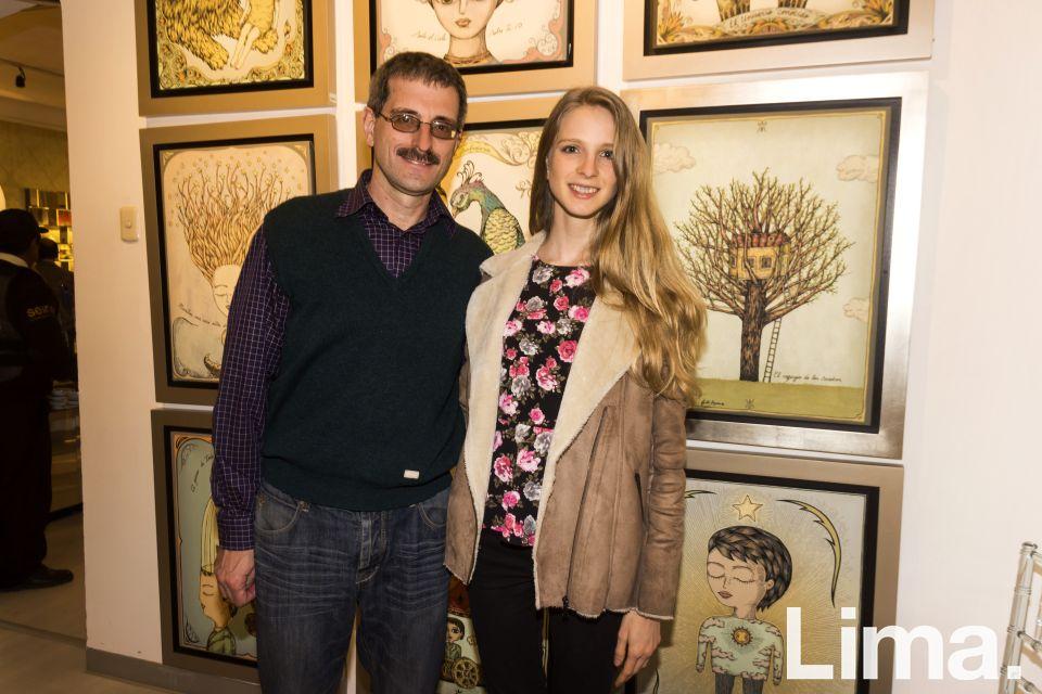 Karl y Laura Flukiger.