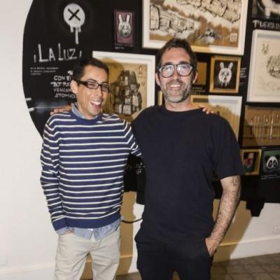 Alonso S. Gastelumendi y Rafael Lanfranco.