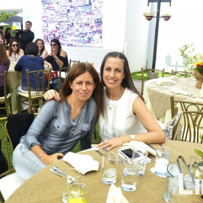Lucia Olazabal y Sissi de Romaña.