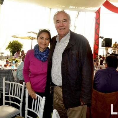 Lucila y Victor Andres Garcia Belaunde.