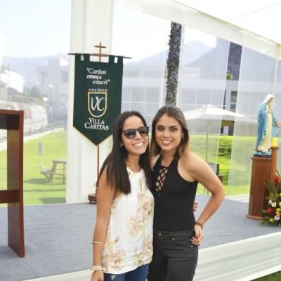Maria Cristina Vasquez y Jessica Vilchez Vivanco.