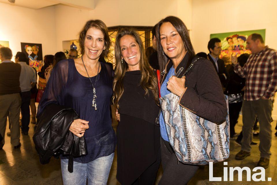 Maria Isabel Scheuch, Lia Drinot y Patty Williams.