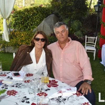 Marisa Freire y Jimmy Stewart.