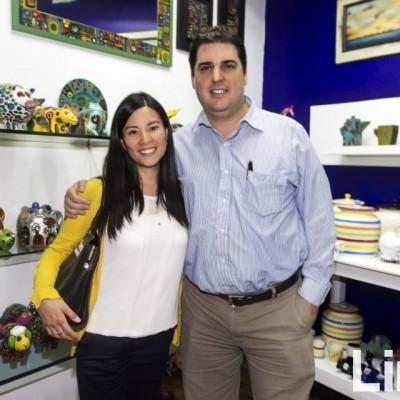 Melisa Chinen y Jorge de Albertis.