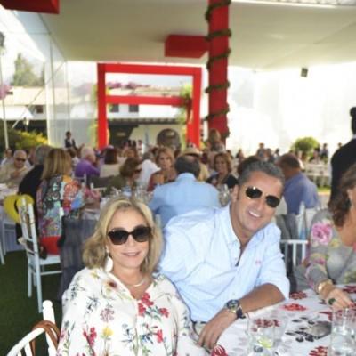 Rosalle Alberti y Juan Manuel Torres.