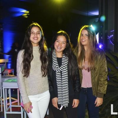 Samantha Abusada , Valeria Wu y Daniela Ontaneda.