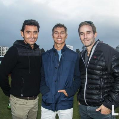 Santiago de Osma, Santiago Masías y Alejandro Bitar.