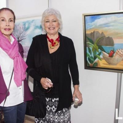 Silvia Rodriguez y Silvia Ganoza.