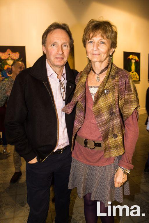 Simon Noble y Patricia Beeck.