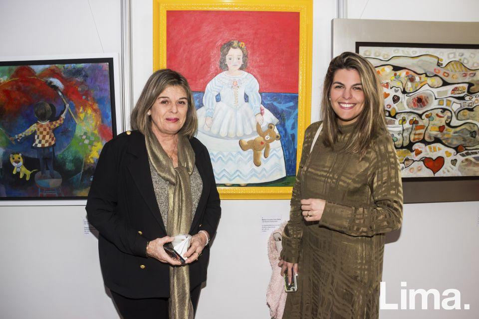Susana Santacroce y Antonella Carvajal.
