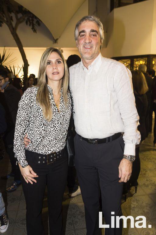 Valieria Bertoli y Italo Cuneo.