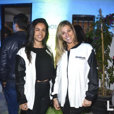 Veronica Sanchez y Carolina Godoy.
