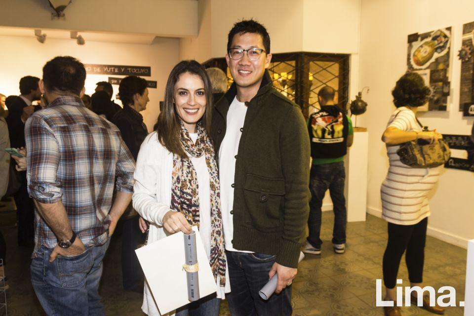 Victoria Ochoa y Thait Chang.