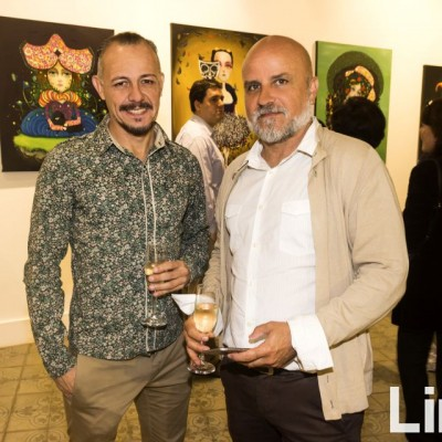 Walter Sirvas y Javier Justo.