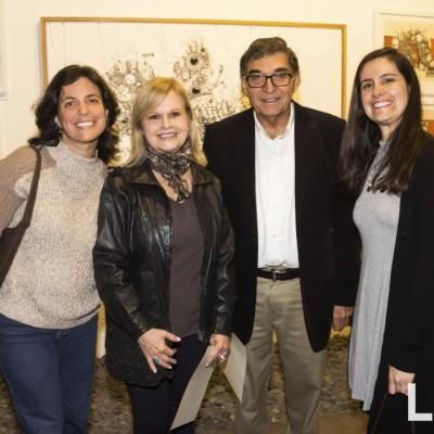 Ximena Ballon, Teresa Falconi, Jorge Gastelumendi y Denise Favre.