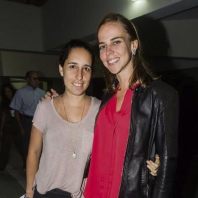 Alejandra Rodriguez-Larrain y Kristine Plenge.