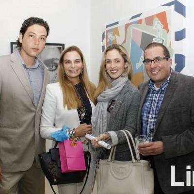 Alejandro Gasquez, Micheline Newall, Cristina Aspíllaga y Miguel Atala.