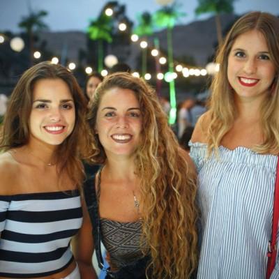 Brianna Aita, Chiara Rosingana y Macarena Sanchez.