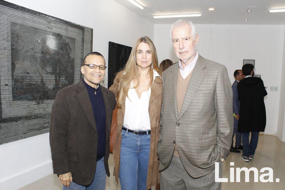 Carlos Runcie, Sonia Cunliffe y Carlos Llosa.