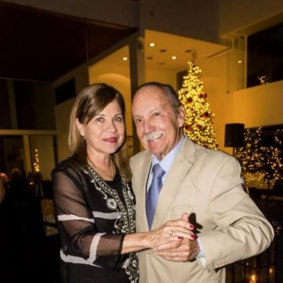 Cecilia Merino y Carlos Occio.
