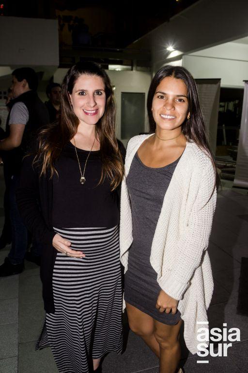 Daniela Checa y Luciana Gamio.