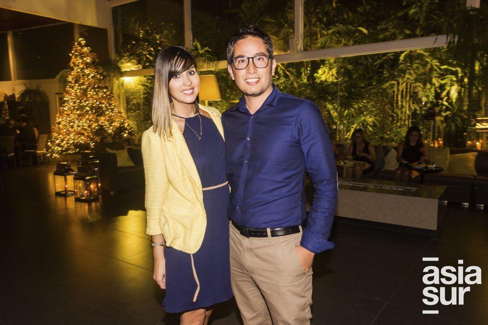 Francesca Crapesi y Daniel Cortes