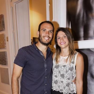 Francisco Landazuri y Maria Fe Flores.