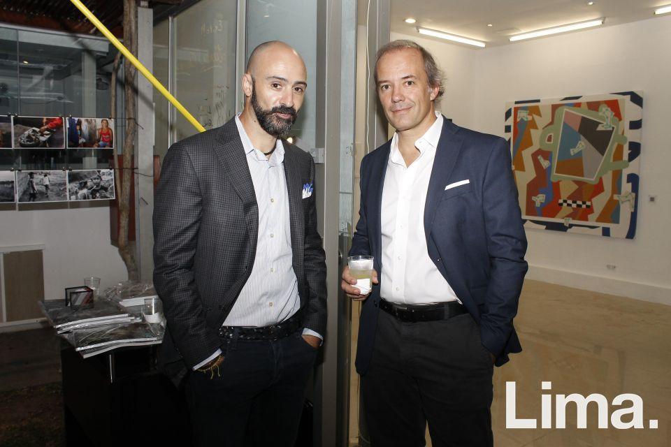 Gabriel Ossandon y Antonio Calleja.