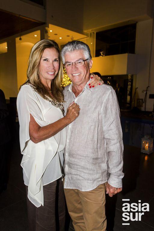Giovanna Canepa y John Cohn.