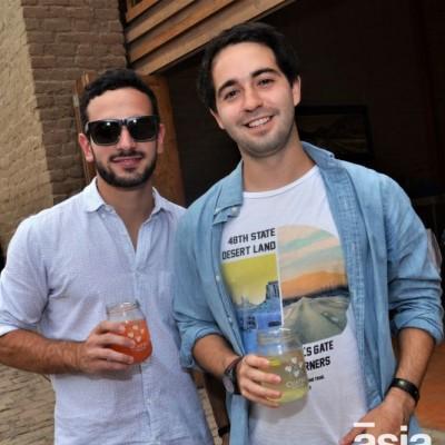 Gonzalo Yrigoyen y Diego Aguilar.