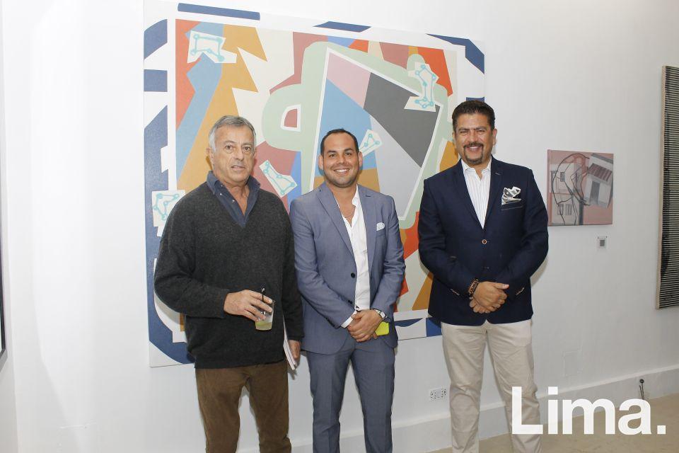 Hernán Pazos, Ilan Karpio y Oswaldo Bravo Daneri.