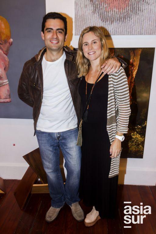 Ignacio Mariategui y Melissa Larrabure.