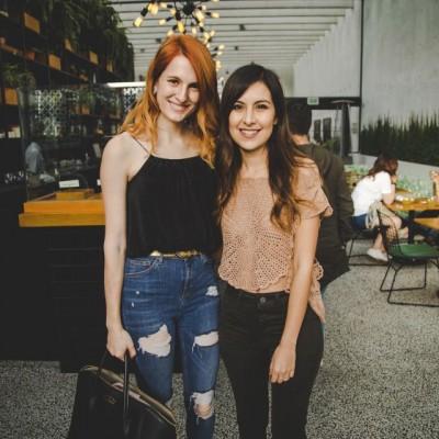 Jessica Butrich y Tana Rendón.