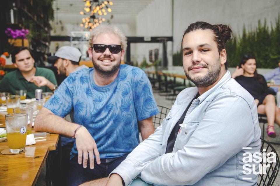 JuanMa Secada y Rudi Cocchella.
