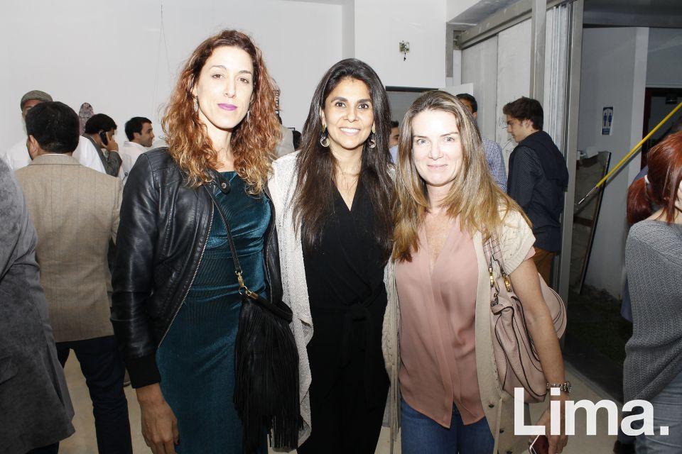 Kylla Monica Piqueras, Rochi Del Castillo y Silvana Pestana.