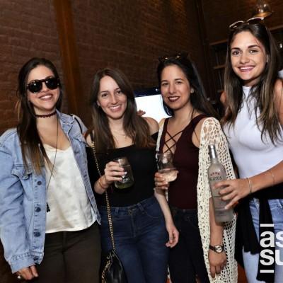 Luciana Rouillon, Genevieve Wharton, Carla Nora y Francesca Cutolo.