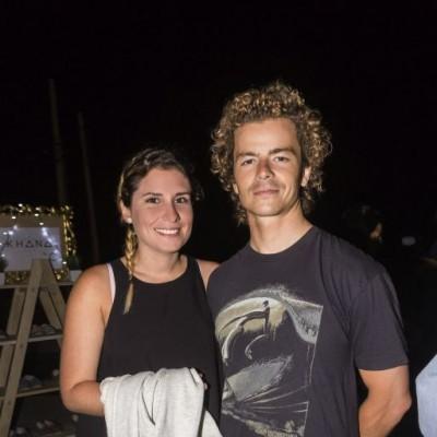 Maria Jose Migone y Sebastian Gray.
