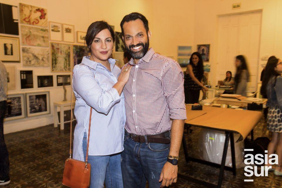 Marissa Chiappe y Tito Castagnola.