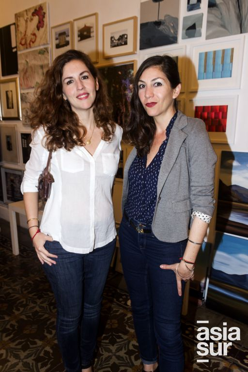 Melissa Dupont y Luisa Fernanda Lindo.